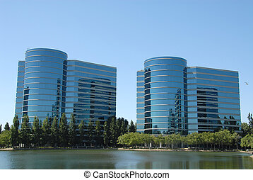 Office buildings - High tech office buildings, Redwood...