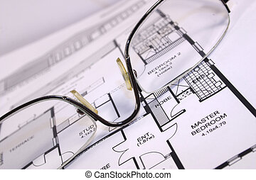 home design - new home design behind a set of spectacles