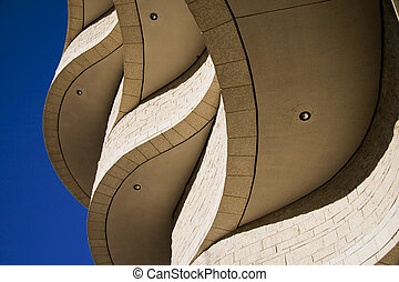 Structural Curves - Museum of Civilization in Gatineau,...