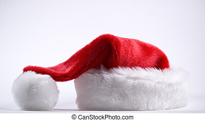 santas cap waiting for santa