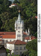 Sintra - Beautiful castle. Picture taken in Sintra /...