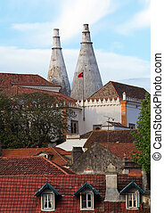 Sintra - Beautiful architecture. Picture taken in Sintra /...