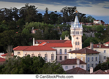 Sintra - Beautiful castle. Picture taken in Sintra /...