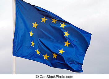 European Union - Big Banner of the European Union. Picture...