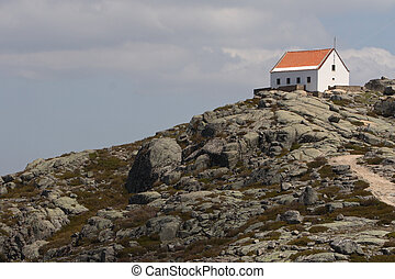 Chalet - House on the top of the mountain Pictue taken in...