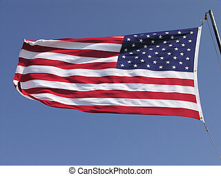 Waving US Flag 1 - Waving US Flag