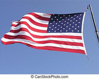 Waving US Flag 2