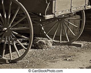 Stock Photographs of Horseless Carriage Sepia - A sepia toned ...