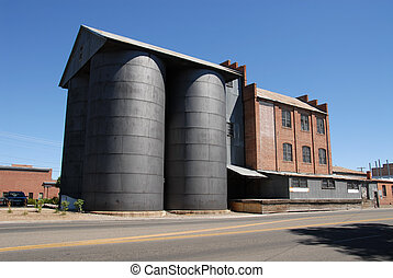 Flour mill - Turn of the century flour mill, Minden, Nevada