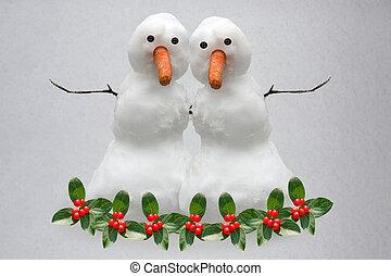 Christmas Snow Buddies
