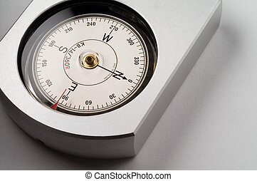 Real bearing compass. High precision instrument designed to...