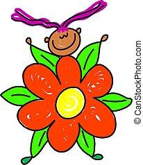 flower kid