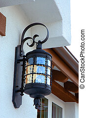 Outdoor Light Fixture - outdoor light fixture by front...