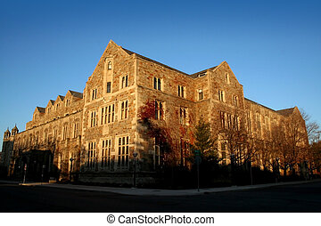 Michigan University - Historic building in University of...
