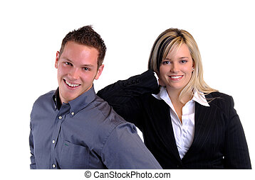 Attractive Couple - An Attractive Young Couple Having Some...