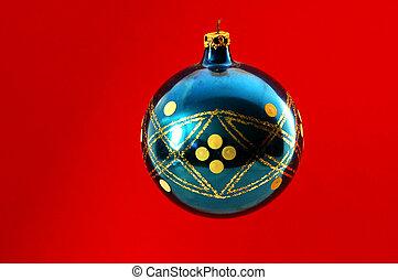 Christmas Bulb - Photographed Christmas bulb decoration.