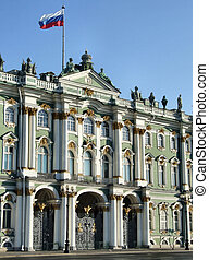 Hermitage (Russia) - Famous Russian landmark - one of the...