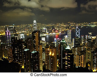 Hong Kong - Photo of Hong Kong from the peak