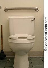Klasyk, toaleta, puchar
