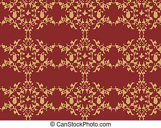 retro wall-paper - great for your design and art-work