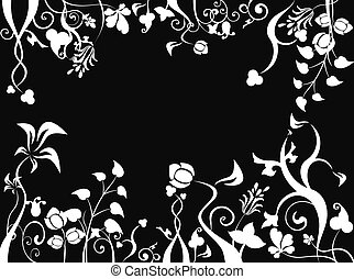 foliage bg - place your text here,great for your design and...