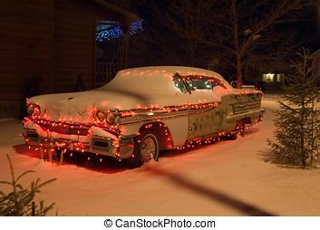 coche,  2, navidad