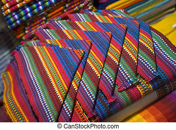 napkins guatemala - colorful hand made napkins textiles...