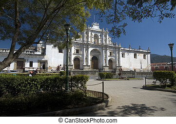 cathedral san jose antigua guatemala - cathedral of san jose...