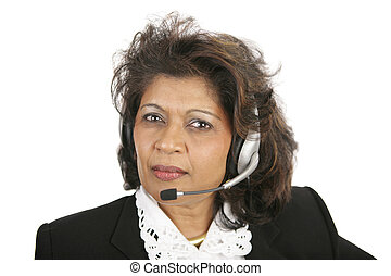 Caring Operator - A caring, concerned Indian telephone...