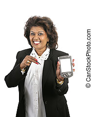 Indian Businesswoman - Message For You - A pretty Indian...