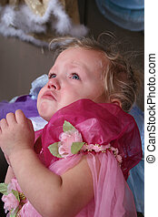 crying - A cute toddler crying alot.