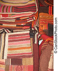 Earthtone Bags - Ethnic bags for sale in a market in...