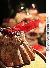 Holiday cake - Holiday traditional cakes and tarts