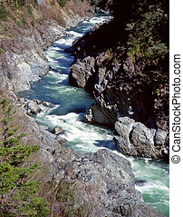 KlamathRiver2 - The Klamath river in northern California