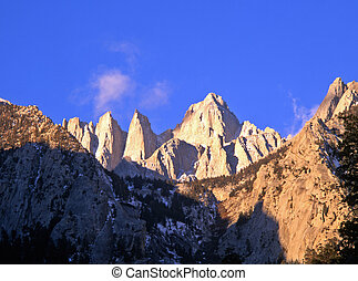 MtWhitney3 - Mt Whitney in the Inyo National Forest,...
