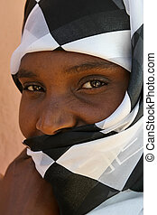 african muslim woman - beautiful african woman from Zimbabwe