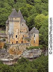 Chateau de Laussel, France - Chateau de Laussel, Dordogne...