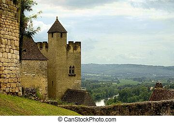 Beynac, France - Beynac, Dordogne (Perigord), Aquitaine,...