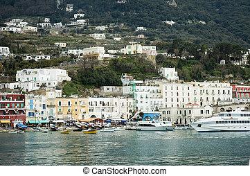 Capri harbour lifestyle - Capri island harbour lifestyle...