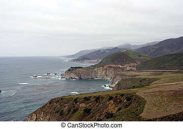 Big Sur - View of Big Sur, California