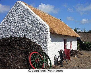 bog village in Ireland