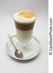 coffee frappe #2 - just brewed glass mug of coffee frappe...