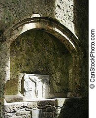 tomb in church - tomb at the Rock of Cashel