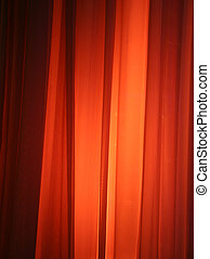 Spot Light Against Curtain