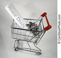 house deeds in shopping cart