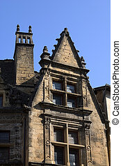 House in Sarlat, France - Ancient house in Sarlat, Dordogne...