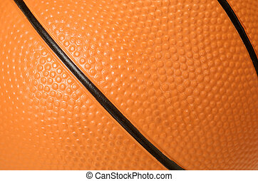 Basketball Textured Background - Textured Surface