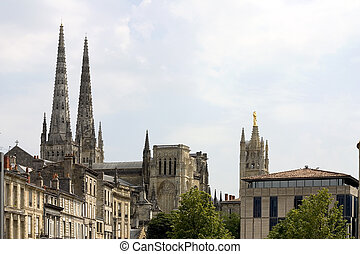 Bordeaux Cathedral, France - Saint-Andre Cathedral and Pey...