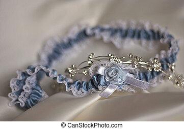 Garter - Blue garter