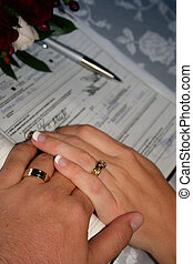 Wedding Hands - Pair of hands